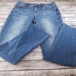 Cabi 3562 Slim Boyfriend Jeans Medium Wash